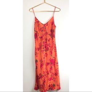 Tracy Feith Raj Silk Dress Vintage